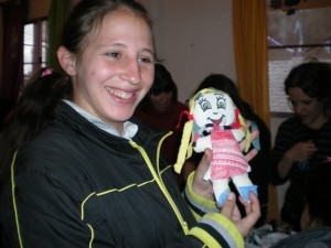 ¡Qué bonita muñeca!